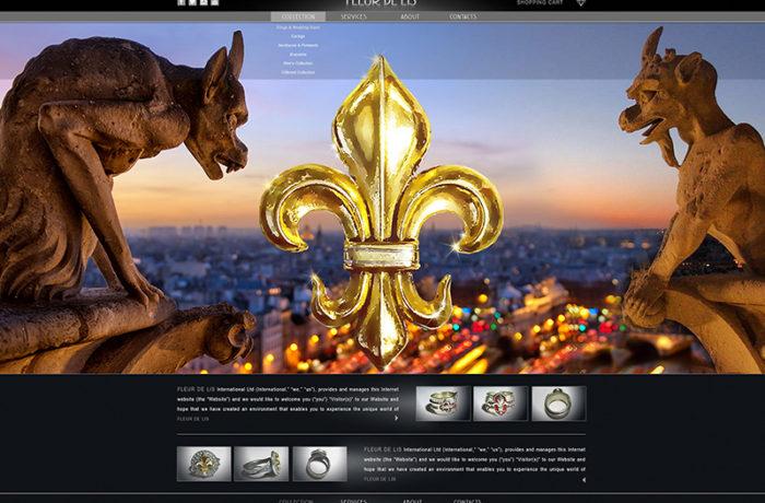 Дизайн сайта – Fleurdelis.nyc